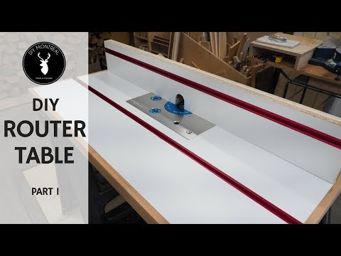 Router Table and Fence | DIY Router Table Build - Part 1