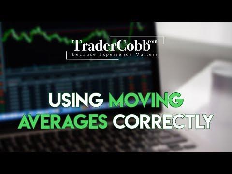 Using Moving Averages Correctly