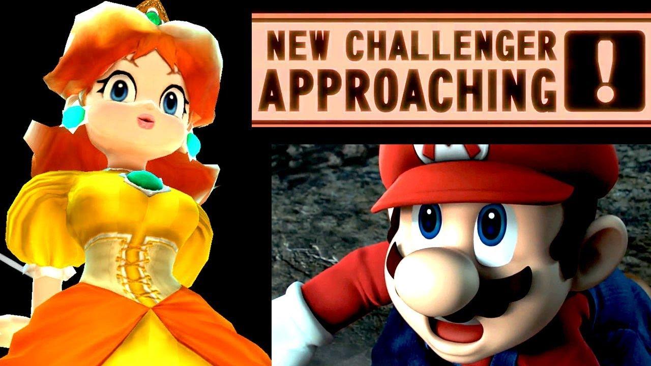 Super Smash Bros WHO CAN BEAT Giantess Daisy? (Wii U - Mod)