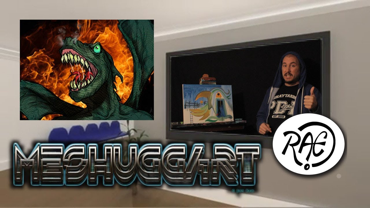 HOW TO PAINT SURREAL LANDSCAPES Live Painting with RAEART