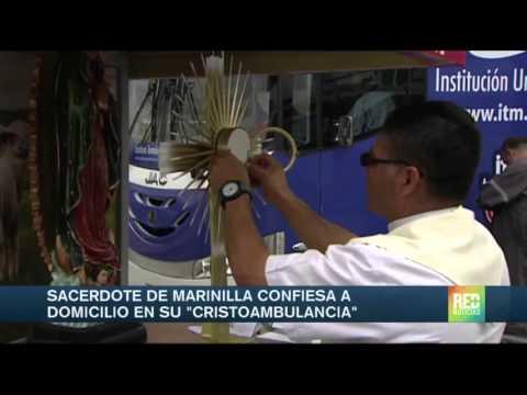Conozca el 'confesionario móvil' en Antioquia