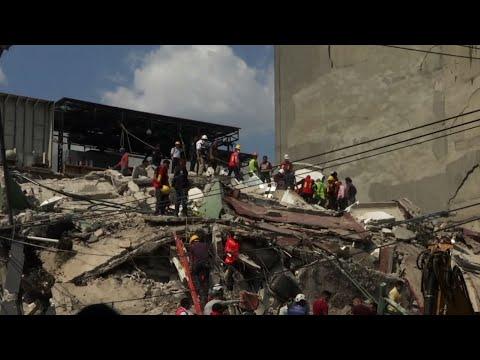Raw: Mexico Quake Death Toll Continues to Rise