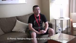 Tatsuo Sato Interview (Anime Expo 2012)