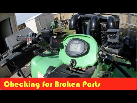 Arctic Cat H1 Oil Change And Screen Inspection DIY