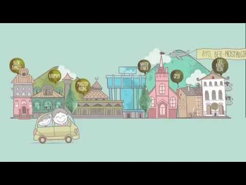 magelang old city - short animation