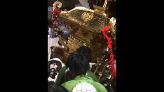 2014鐸比古鐸比賣神社の夏祭り宮入