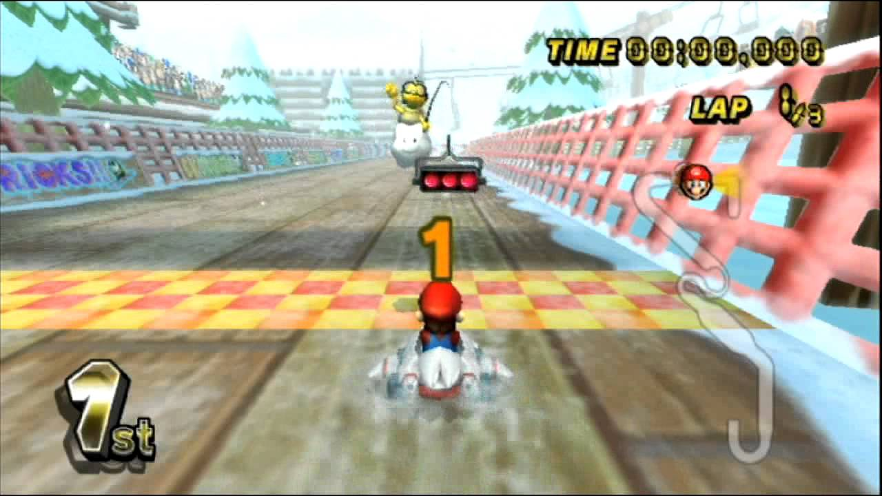 mario kart wii gameplay no commentary youtube. Black Bedroom Furniture Sets. Home Design Ideas