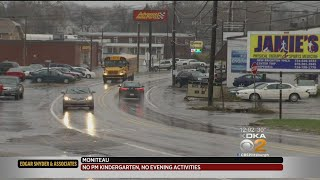 Wintry Mix Causing Headaches For Many Across Western Pa.