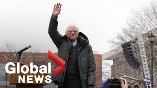 Bernie Sanders launches presidential campaign with rally in Brooklyn