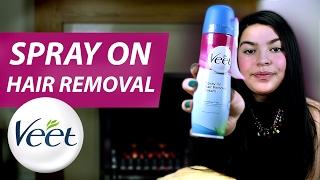 Veet® Spray On Hair Removal Cream - Legs & Body - Sensitive Skin