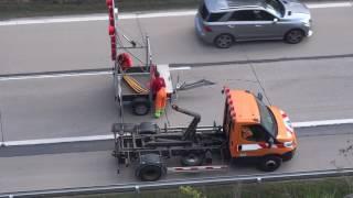 Oprava CB desky na dálnici D1 - 144km - 2.5.2017