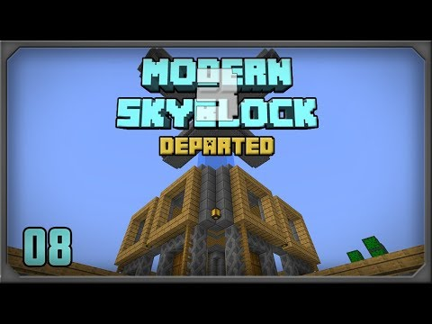 Modern Skyblock 3 EP8 Mob Farm Automation