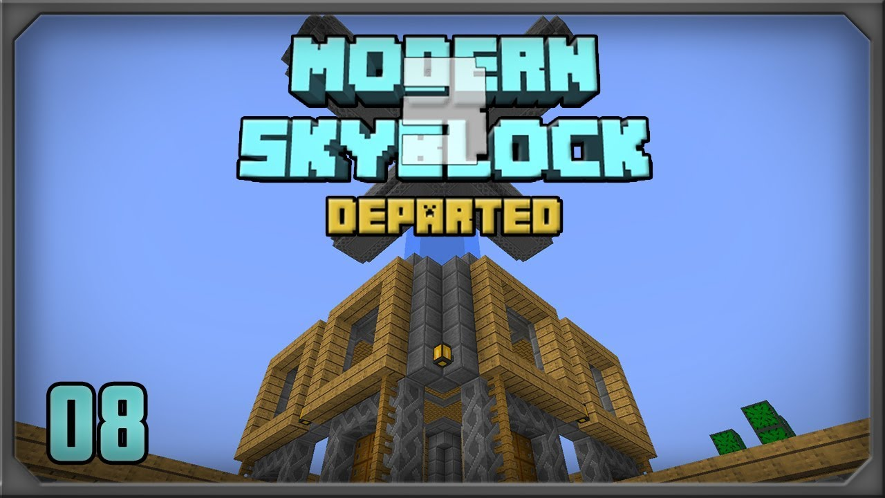 Modern Skyblock 3 EP8 Mob Farm Automation by SystemCollapse