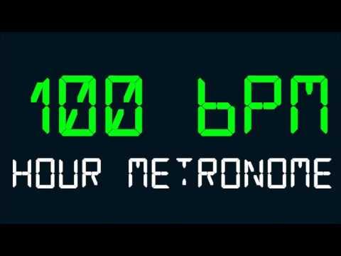 100 BPM (Beats Per Minute) Hour Metronome