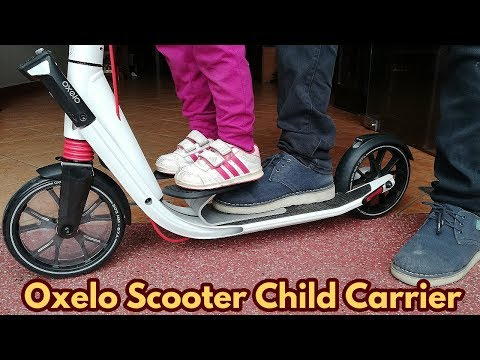 How To Installing Oxelo Scooter Child Carrier
