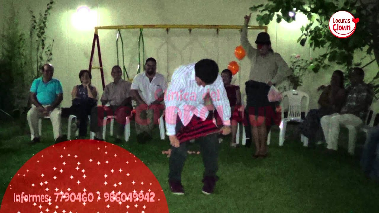 Despedida De Solteros Mixta Show Locuras Clown Detalles De Amor Lima