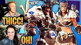 Streamers React to the *NEW* Fyra and Jaeger Skins! - Fortnite Best and Funny Moments