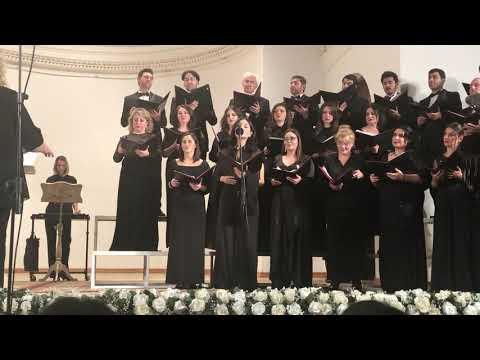 "Azerbaijan State Academic Choir-Capella.Solo -Natavan Quliyeva -Lauridsen ""Dirait On"""