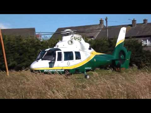 Great North Air Ambulance, Annan, 6 July 2014
