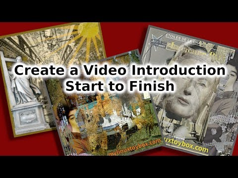 Create a Video Introduction Start to Finish Using Gimp and FFmpeg thumbnail