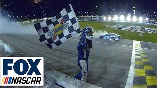 Martin Truex Jr. Wins At Kansas | 2017 Kansas | Fox Nascar