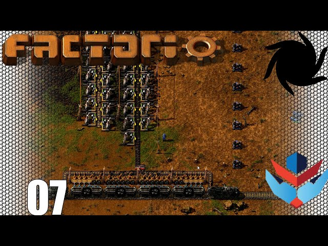 Factorio 1.0 Multiplayer 1K SPM Challenge - 07 - The Coal Train Is Go