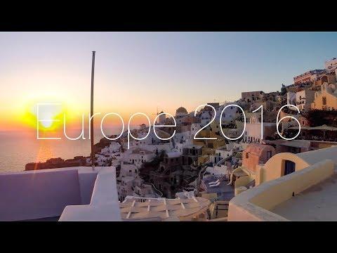 EUROPE TRIP 2016 | GoPro HD | Greece | Croatia | Italy