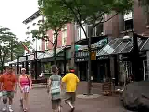 Burlington, Vermont downtown