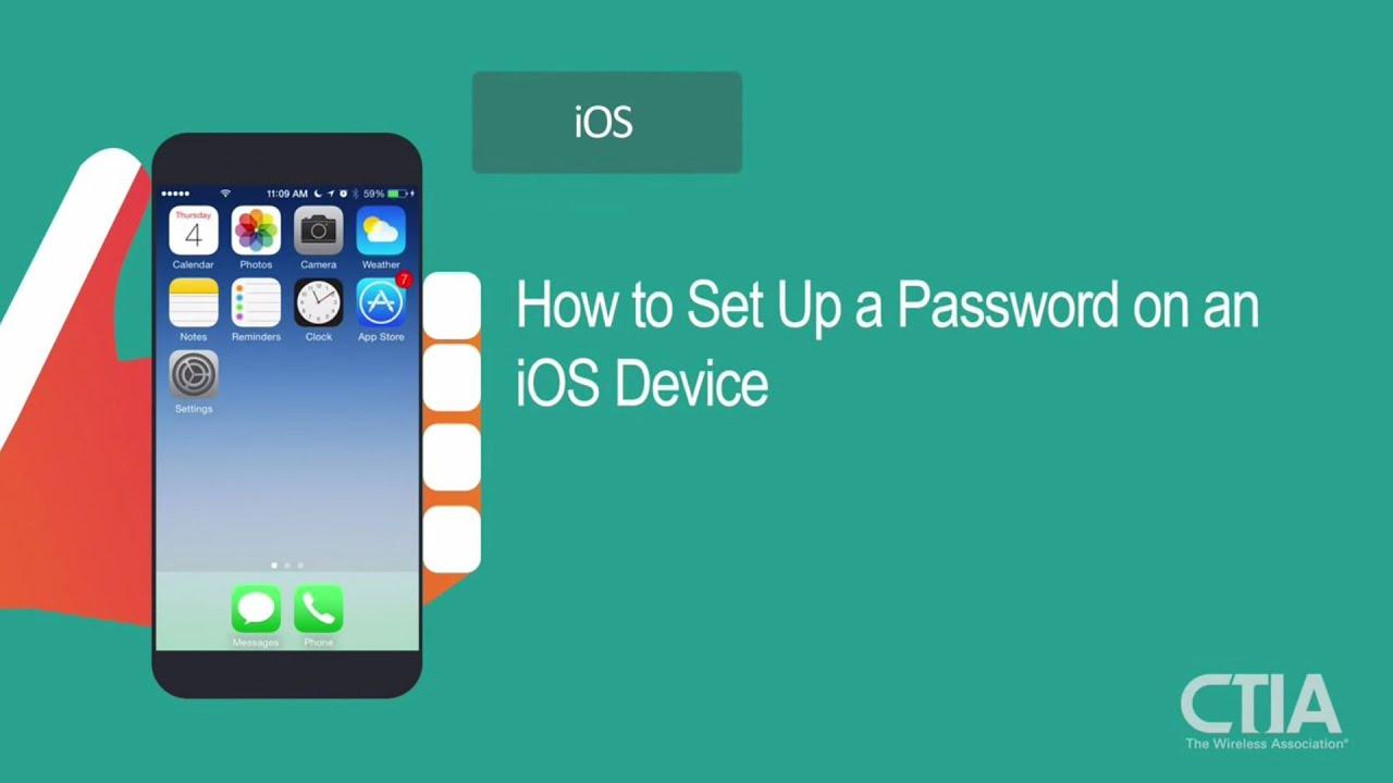 Set up an ios device