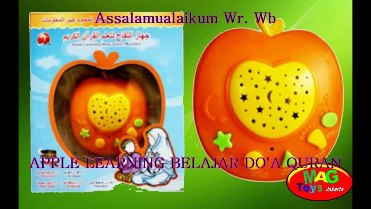 Apple Learning Belajar Doa Quran Youtube 6 Tombol Mainan Edukasi Anak Apel Al