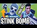 STINK BOMB FINAL KILL!! - FORTNITE BATTLE ROYALE!