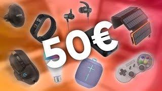 TOP9 : IDÉES CADEAUX HIGH TECH À -50€ (2019)