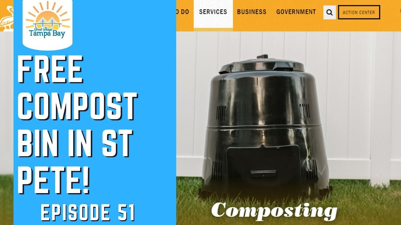 How to Get a Free Composting Bin for St Pete Residents