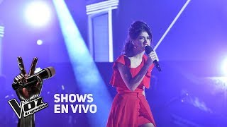 "Shows en vivo #TeamTini: Juliana canta ""Fighter"" de Christina Aguilera - La Voz Argentina 2018"