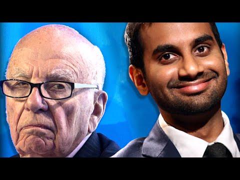 Aziz Ansari Made Rupert Murdoch Apologize & Then Sticks The Landing