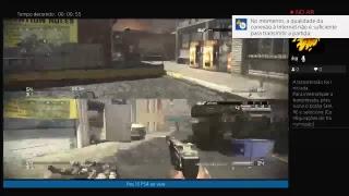 Live de call of duty ghosts PS4