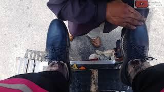 Video S2E81 Fast shoe shine smurf shoes  #mexico/lustrada rápida zapatos pitufo #ASMR #shoeshine download MP3, 3GP, MP4, WEBM, AVI, FLV Oktober 2019