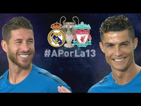 #Aporla13 LIVE | Real Madrid - Liverpool FINAL CHAMPIONS KIEV 26/05/2018