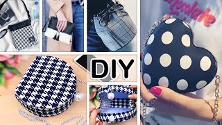 5 DIY PURSE BAG FOR EVERYONE H…