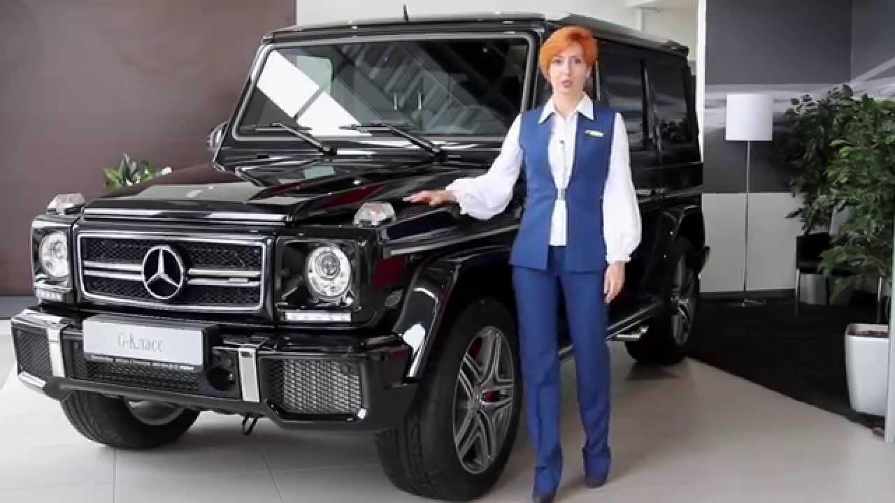 Обзор автомобиля Mercedes-Benz G-Класс