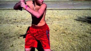 Baseball Swing Slow Motion