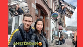GOING TO AMSTERDAM | DATE WITH DADDY LOVE ( Pinay in Belgium)