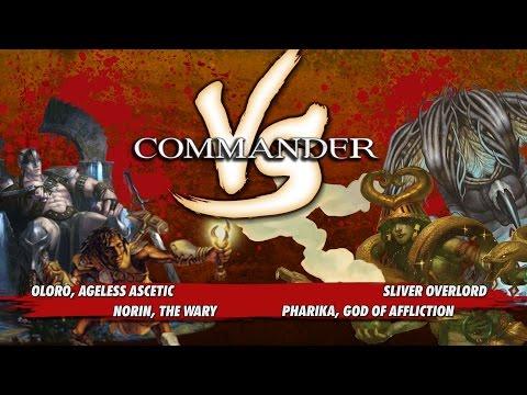 Commander VS S1E9: Oloro vs Norin vs Sliver Overlord vs Pharika