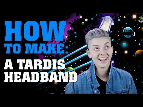 Download Youtube: How To Make A TARDIS Headband - Doctor Who
