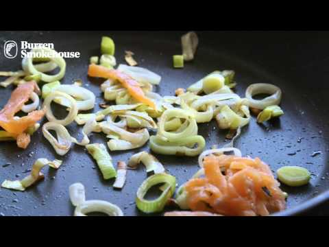 Recipe Birgitta's Tagliatelle with Smoked Irish Organic Salmon