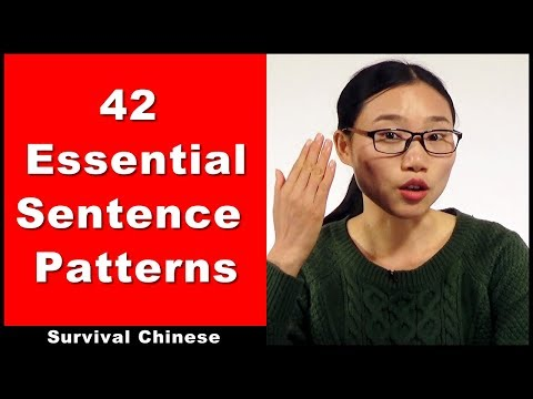Survival Chinese - 42 Essential Sentence Patterns - Intermediate Chinese Conversation