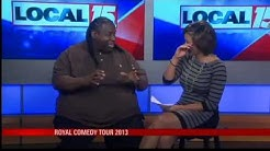Comedian Bruce Bruce Tackles the Port City