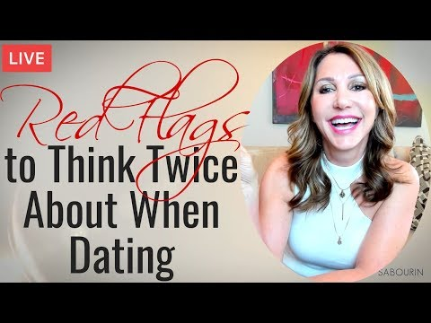 🔴Red Flags To Think Twice About When Dating | Engaged At Any Age | Jaki Sabourin
