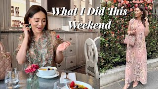 Came for DIOR & Left With More CHANEL | What I Did This Weekend