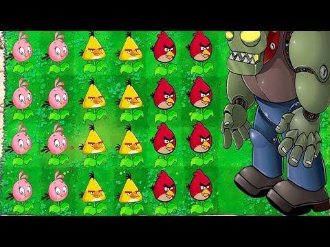 Plants vs Zombies vs Dr. Zomboss Angry Birds